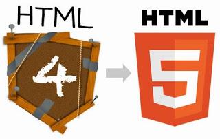 Чем отличается html5 от html4?